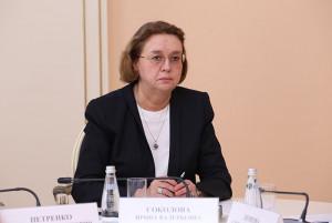 Irina Sokolova Heads Public Chamber of St. Petersburg of Second Convocation