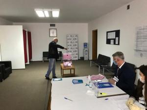 Мониторинговая группаМПА СНГ ведет наблюдение за выборамив парламент Сербии на участке в Москве