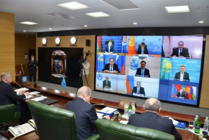 Council of CSTO Foreign Ministers Holds Meeting Via Video-Conferencing