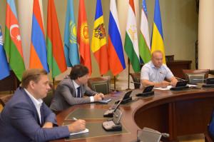 Рабочие консультации Секретариата Совета МПА СНГ и Исполкома СНГ прошли в формате видеоконференции