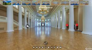 На сайте МПА СНГ появился 3d-тур по Таврическому дворцу