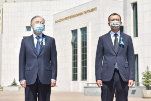 Mourning Ceremony for Victims of Coronavirus Pandemics Took Place in Kazakh Parliament