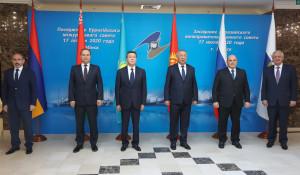 Евразийский межправительственный совет впервые с начала пандемии провел очное заседание