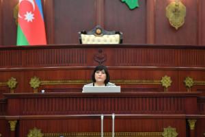 Состоялось первое заседание внеочередной сессии Милли Меджлиса Азербайджанской Республики