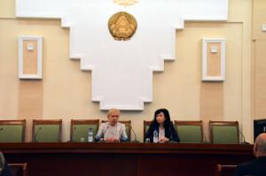 Международные наблюдатели от МПА СНГ встретились с Лидией Ермошиной