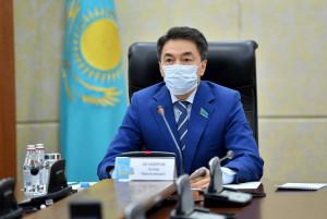 Сенаторы Республики Казахстан обсудили с уполномоченными органами гуманитарную помощь населению