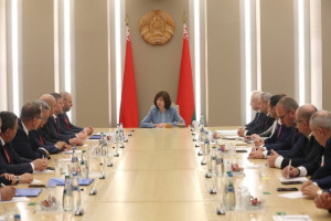 IPA CIS Observers Meet With Leadership of National Assembly of Republic of Belarus