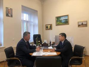 Plenipotentiary Representative of Jogorku Kenesh of Kyrgyz Republic Met with Authorities of St. Petersburg State Academy of Veterinary Medicine