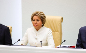 Valentina Matvienko Drew Outcomes of Work of Russian Parliament during Spring Session