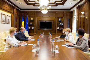 Zinaida Greceanii and Oleg Vasnetsov Discussed Issues of Inter-Parliamentary Cooperation