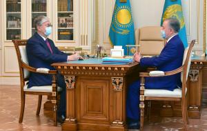 Спикер нижней палаты Парламента Казахстана проинформировал Президента страны о работе депутатов
