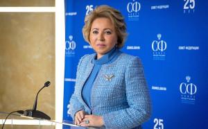 Валентина Матвиенко провела встречу с Послом России в Беларуси Дмитрием Мезенцевым