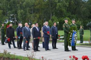 Представители Секретариата Совета МПА СНГ почтили память жертв блокады Ленинграда
