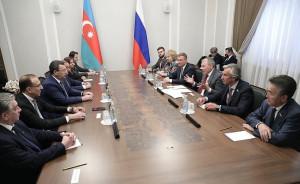 Российские депутаты встретились с делегацией Милли Меджлиса Азербайджанской Республики