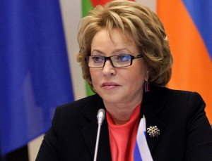 Valentina Matvienko Called on Sides of Nagorny Karabakh Military Conflict to Cease Fire and Return to Negotiations