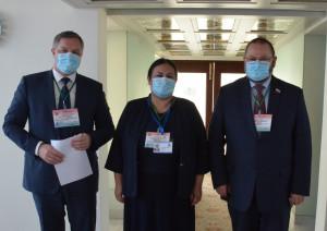 Наблюдатели от МПА СНГ и БДИПЧ ОБСЕ обменялись впечатлениями о выборах в Республике Таджикистан