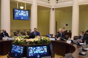 В Таврическом дворце обсудили проблемы экономической безопасности стран Содружества