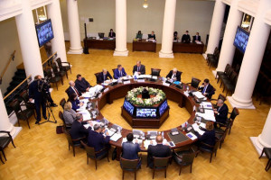Meeting of IPA CIS Permanent Commission on Legal Issues Held in Tavricheskiy Palace