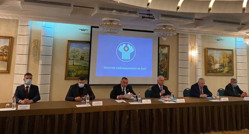 Миссия наблюдателей от СНГ подвела итоги мониторинга президентских выборов в Молдове