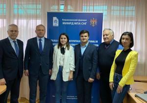 В Кишиневском филиале МИМРД МПА СНГ вручили дипломы интернет-олимпиады «Избирательные системы стран мира»