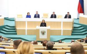 Сенаторы Российской Федерации подвели итоги года