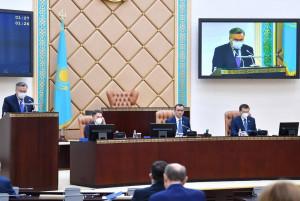 Маулен Ашимбаев: Парламент принял 110 законов за прошедший год