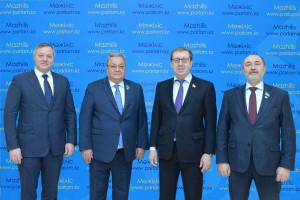 В Мажилисе Парламента Республики Казахстан прошла встречас наблюдателями от МПА СНГ