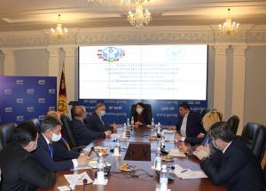 Международные наблюдатели от МПА СНГ встретились с руководством ЦИК Кыргызстана