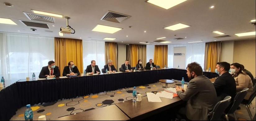 Международные наблюдатели от МПА СНГ на выборах в Казахстане встретились с главой миссии БДИПЧ ОБСЕ