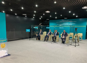 Alexei Mayorov and Dmitriy Kobitskiy Took Part in Monitoring of Voting of Assembly of People of Kazakhstan