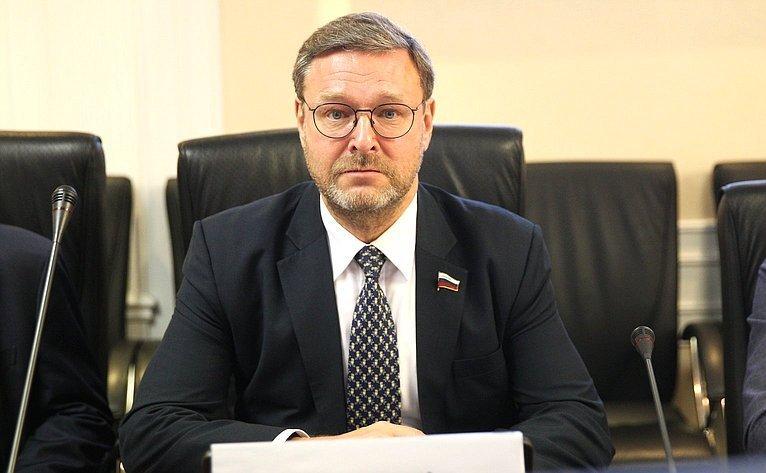 Konstantin Kosachev Meets President of Inter-Parliamentary Union Duarte Pacheco