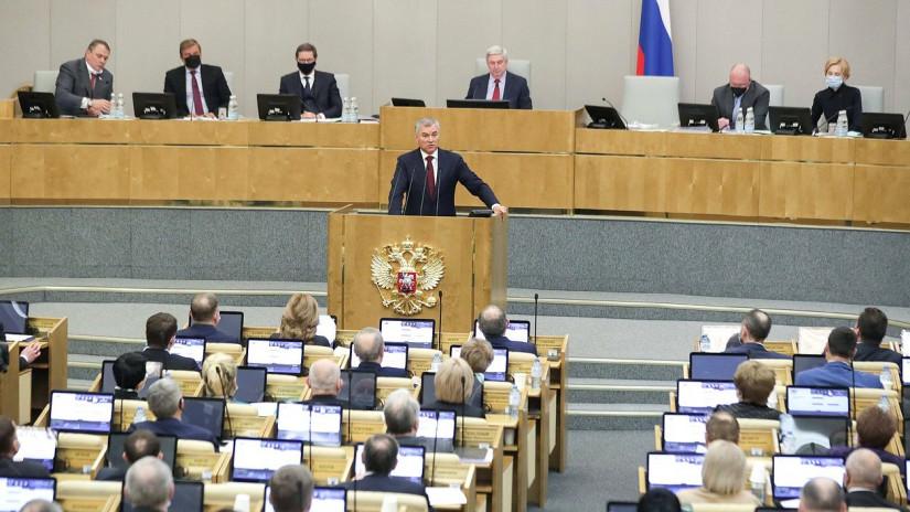 Вячеслав Володин назвал приоритеты работы Государственной Думы в весеннюю сессию
