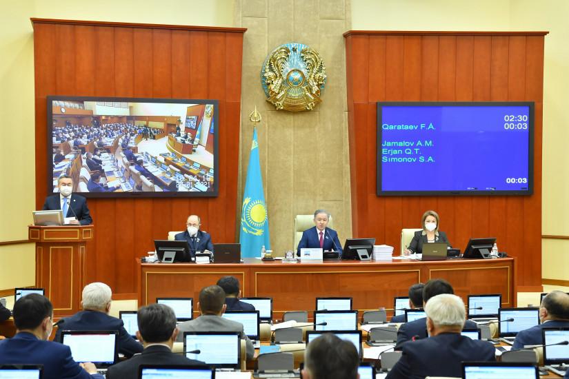 Казахстанские депутаты обозначили цели предстоящей законотворческой работы