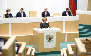 Valentina Matvienko: Strengthening Cooperation With CIS Partners Remains Priority Area