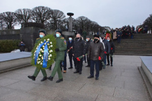 IPA CIS Delegation Participated in Solemn Mourning Ceremony at Piskarevskoye memorial cemetery