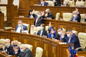 Парламент Республики Молдова провел первое пленарное заседание весенней сессии