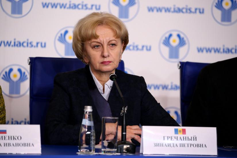 Председатель Парламента Республики Молдова Зинаида Гречаный отмечает юбилей