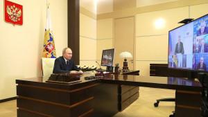 Владимир Путин провел встречу с руководством фракций Государственной Думы