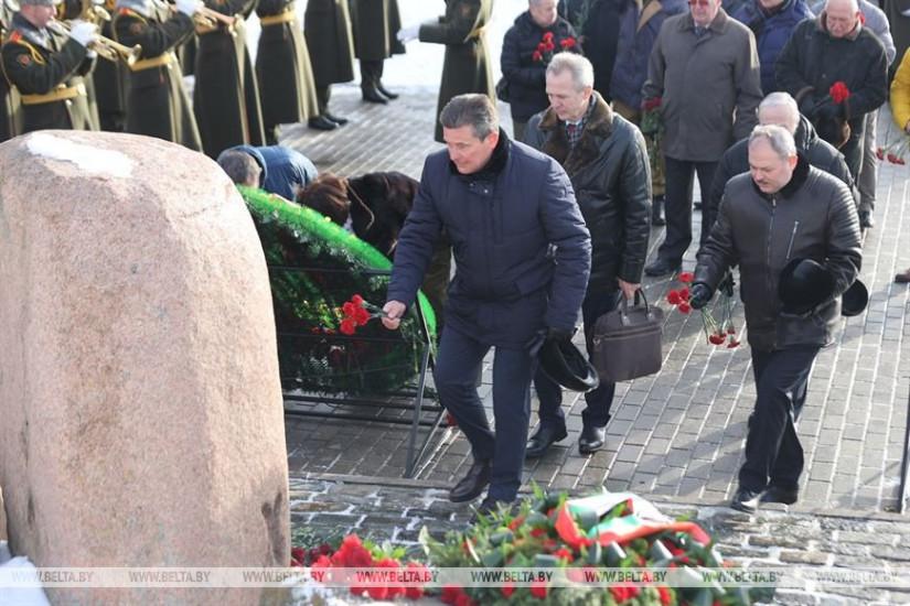 В Минске почтили память воинов-интернационалистов