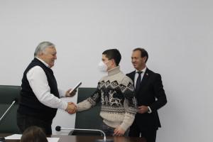 Финалистам конкурса сочинений среди учащихся АТО Гагаузия на тему выборов в Интернете вручены дипломы