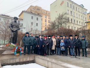 В Санкт-Петербурге почтили память казахского поэта Жамбыла Жабаева