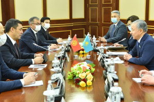 Садыр Жапаров и Нурлан Нигматулин отметили важность межпарламентского диалога