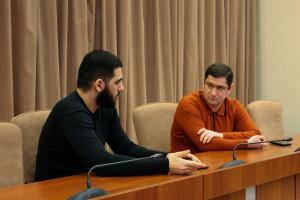 Айк Чилингарян провел встречу с активистами Армянской региональной молодежной ассоциации Санкт-Петербурга