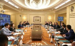 Russian Senators Met With Members of Chamber of Young Legislators under Federation Council