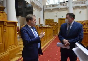Алексей Майоров провел в Таврическом дворце рабочее совещание по подготовке IX Невского международного экологического конгресса