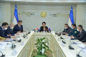 Танзила Нарбаева провела заседание Национальной комиссии по противодействию торговле людьми и принудительному труду