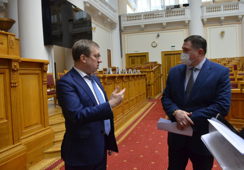 Alexey Mayorov Held Working Meeting on Preparation of 9th Nevsky International Ecological Congress