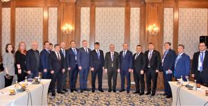 Наблюдатели от МПА СНГ на референдуме в Кыргызстане встретились с делегацией ТЮРК ПА