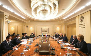 Валентина Матвиенко и Танзила Нарбаева обсудили взаимодействие в рамках МПА СНГ