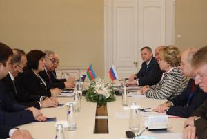 В Таврическом дворце проходят двусторонние встречи руководителей парламентов стран СНГ